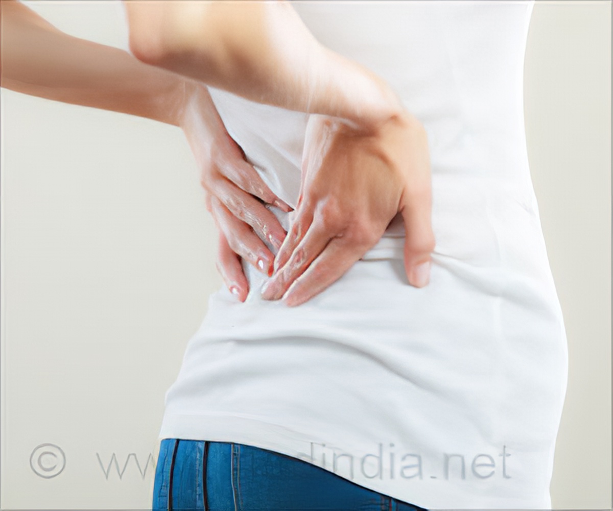 Self-administered Acupressure Could Help Lower Back Pain