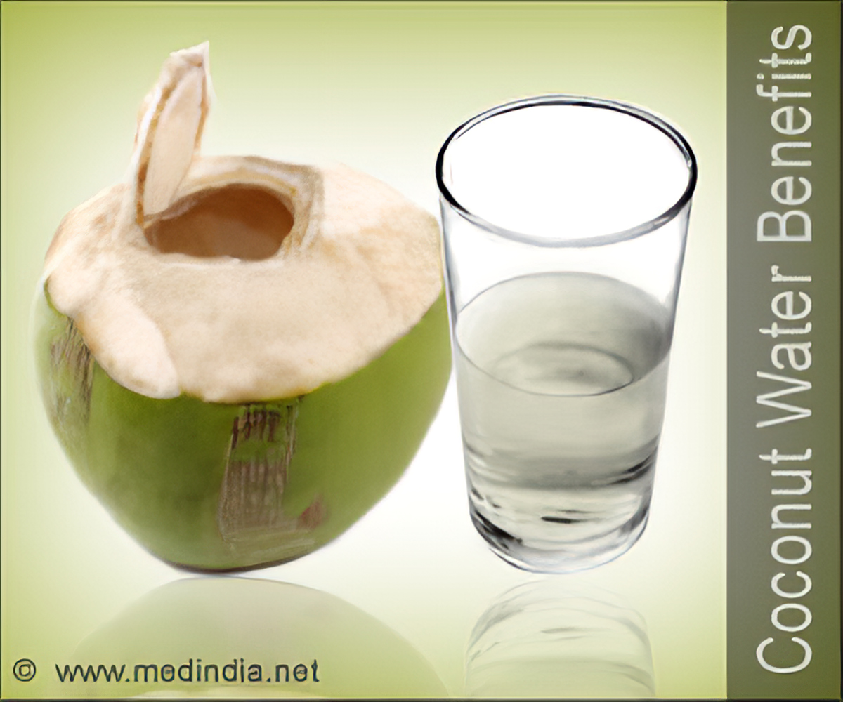 coconut water as a skin tonic
