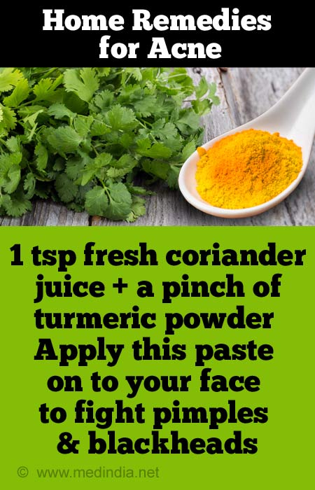 Home Remedies For Acne Pimples