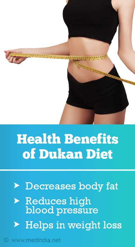 potential  health benefits from  dukan diet