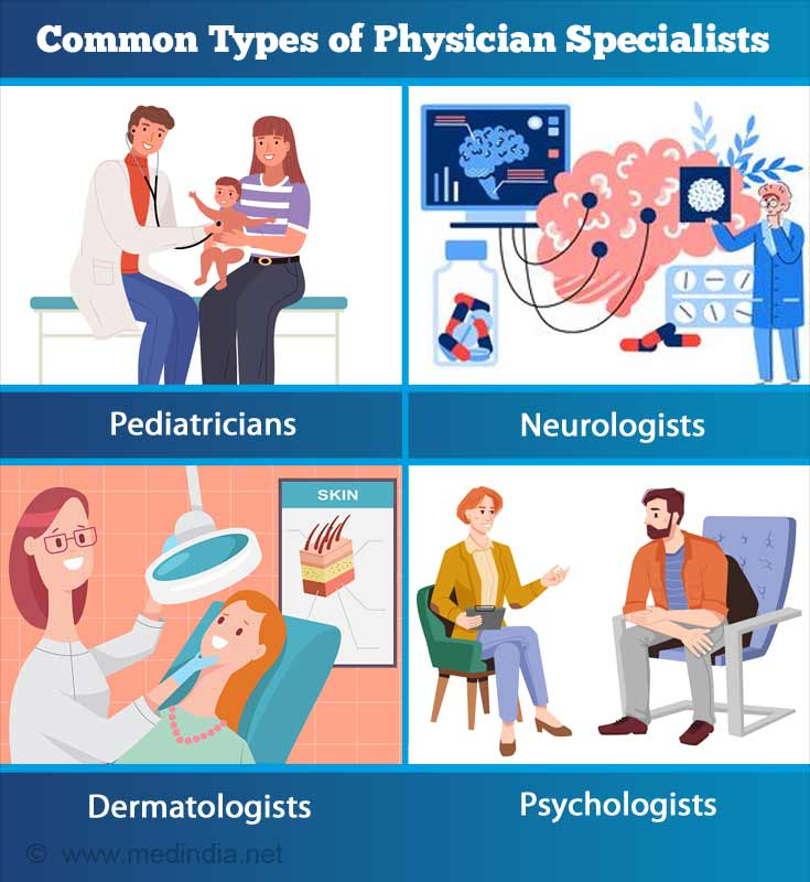 Common Types of Physician Specialists
