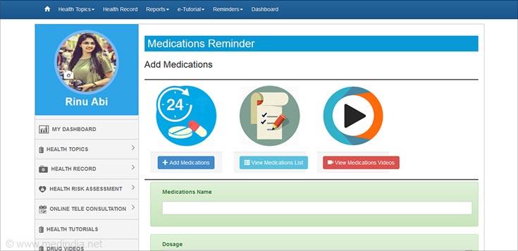 Consumer Medications Reminder