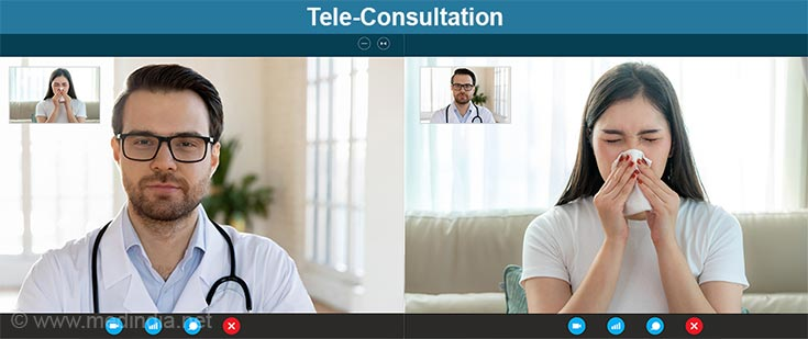 Consumer Tele Consultation Home Page