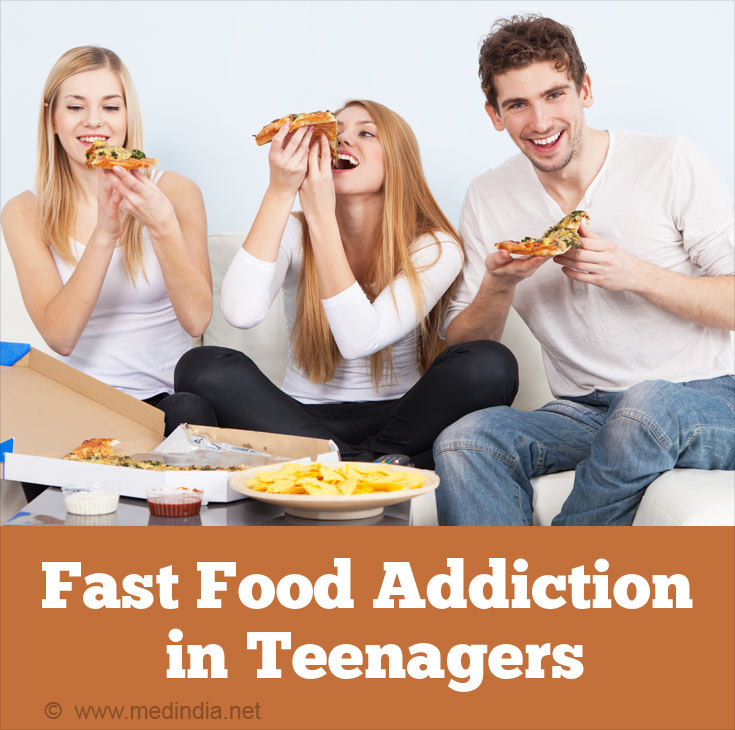 Fast Food Addiction in Teenagers