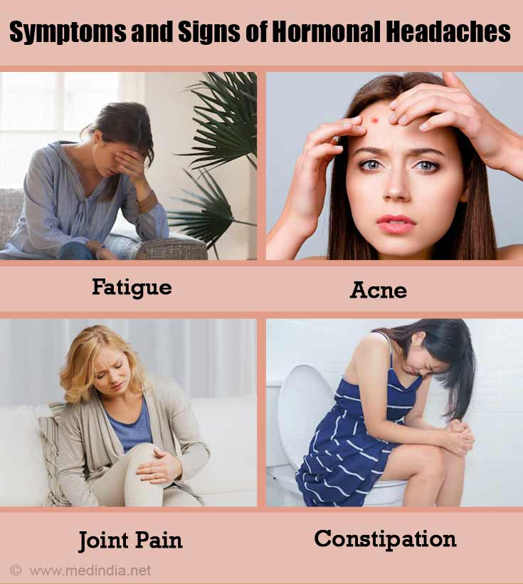 Symptoms and Signs of Hormonal Headaches