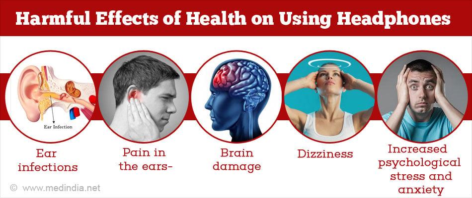 Harmful Effects Of Listening To Music Over Earphones Headphones