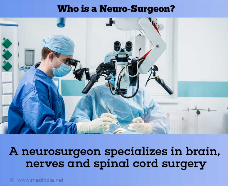 Who is a Neuro-Surgeon?